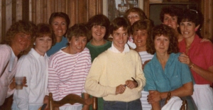 1986 Bellin - Joan Benoit Samuelson at my house