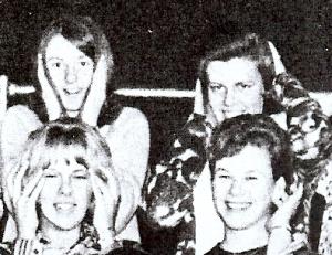 Classmates: Top left - Kathy Wachter Appel , Bottom right - Pam Metzger Bulik