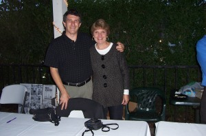 Authors - Mike Dauplasie and Lynda Drews at TitleTown Book Release Party