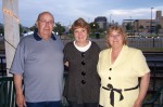 Sgt. Jim Taylor, me and Judy Taylor at Release Party